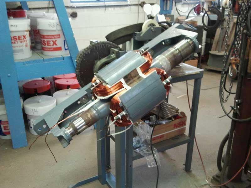 Turbiville industrial electric works llc electric motor for Industrial electric motor repair